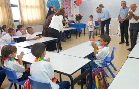 שנת הלימודים נפתחה בהצלחה גם בחינוך הערבי בלוד