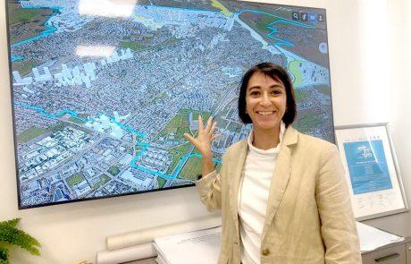"""מהנדסת העיר לוד החדשה, גל גבריאל:  """"בלוד מתרחש המהפך האורבני החיובי הגדול ביותר בישראל"""""""