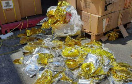 מכס אשדוד סיכל הברחות של עשרות אלפי בלוני הליום