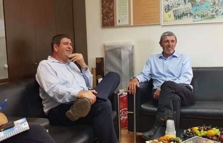 שר החינוך רפי פרץ הגיע לביקור בגבעת שמואל