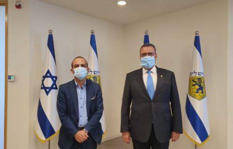 פרופ' רוני גמזו בדיון יציאה מהסגר בעיריית ירושלים