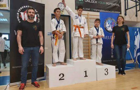 מודיעין- 17 מדליות באליפות ישראל בג'ו ג'יטסו