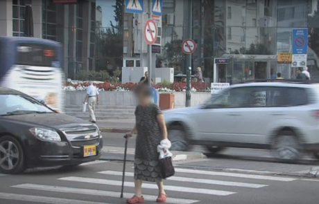 אזרחים ותיקים הולכי רגל נפגעו יותר בשנת 2019