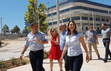 מודיעין:שרת הבינוי והשיכון ביקרה בעיר