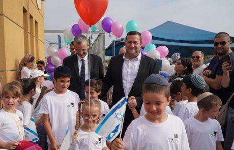 """שר התיירות פתח את שנת הלימודים בשומרון: """"החזון הוא מיליון יהודים בשומרון"""""""