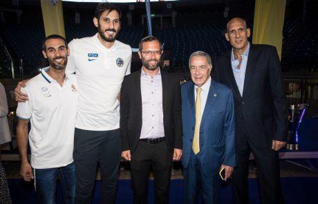 נחתם שיתוף פעולה בין מכבי FOX תל אביב למועצה אזורית מטה בנימין