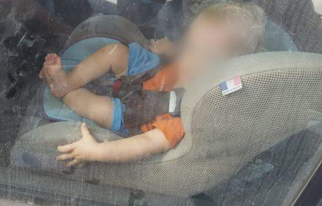 פעוט ננעל ברכב למול עיני אביו באריאל- וחולץ בשלום