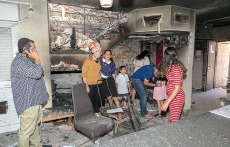 ישראל היפה: סכום כסף גדול נאסף לטובת משפחה מבנימין שביתה נשרף כליל