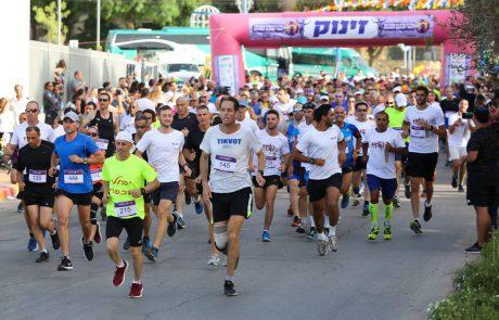 למעלה מ-1,000 רצים ירוצו מחר במירוץ הלילה של שדרות ושער הנגב