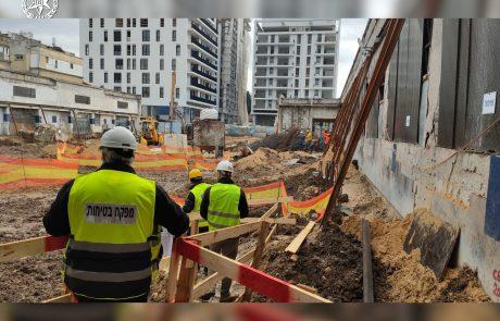 תל אביב: מבצע אכיפה לליקויים בענף הבנייה