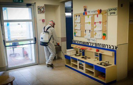 אשקלון:מבצע חיטוי במוסדות החינוך