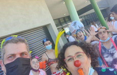 מודיעין: עמיעד טאוב ארגן מסיבת קיץ למשפחות המיוחדות