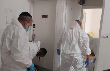 מקרה מזעזע- השבוע התקבל דיווח במוקד זק״א על גופה שנמצאה במצב ריקבון ברחוב סוקולוב בחיפה